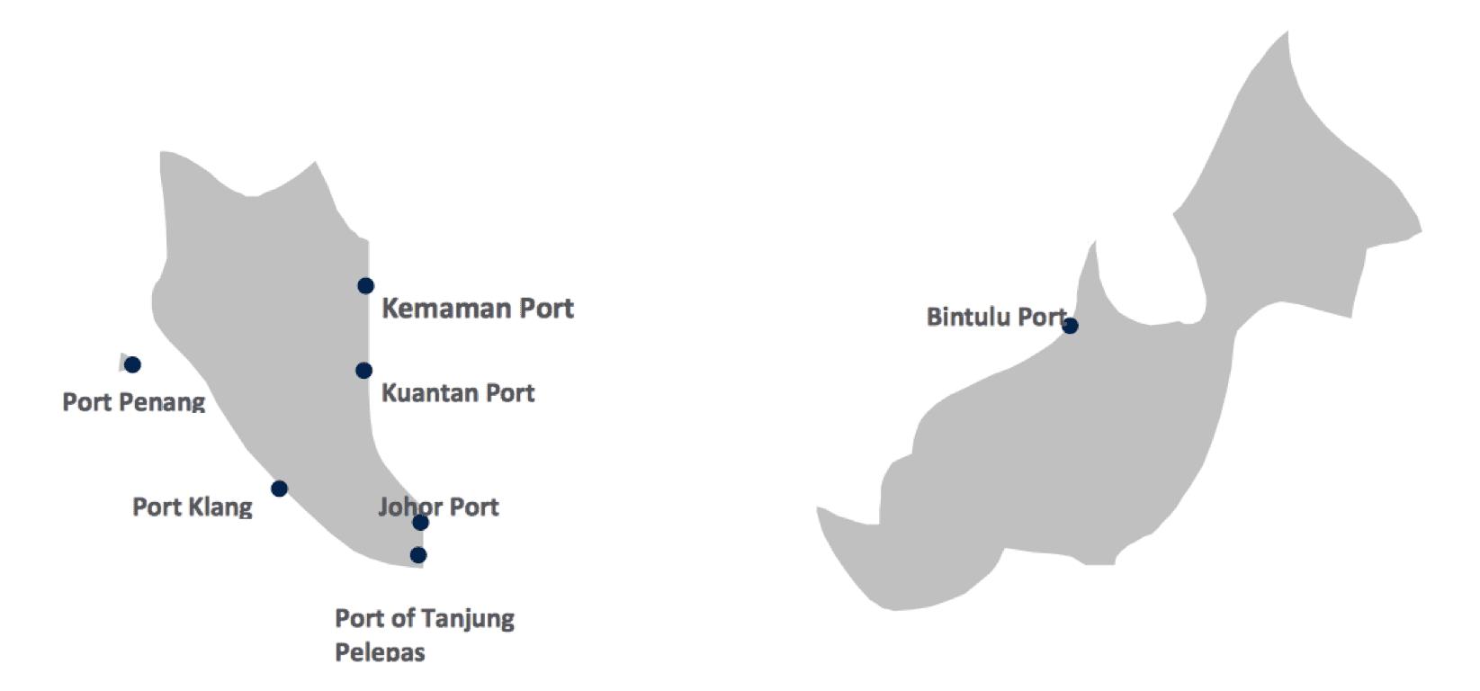 ports malaysia sea freight